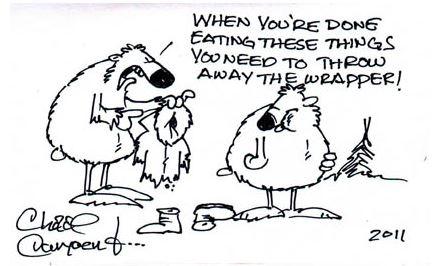Plagiarism Starring Chad Carpenter's Tundra Comics